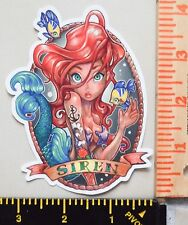 Disney Ariel UV Proof Vinyl Sticker~Pinup~The Little Mermaid~Princess