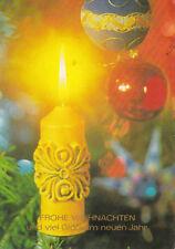 Glückwunschkarte zum Weihnachtsfest und zum Neuen Jahr Motiv 21