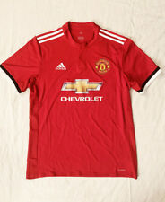 Adidas Manchester United Home Jersey 2017/2018 Chevrolet Large Men's