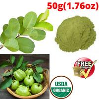 Organic Guava Leaves Powder For Herbal Tea Weight Loss Fat Burner Skin Care