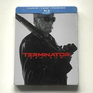 Terminator Genisys (blu-ray 3D + 2D + bonus) Steelbook ***NEUF SOUS BLISTER***