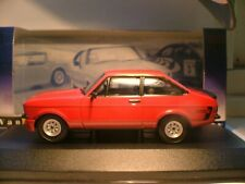 SUPERB NEW SOLD OUT VANGUARDS RED 1/43 1978 FORD ESCORT MK 2 RS MEXICO RHD NLA
