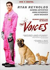 The Voices Ryan Reynolds SCHIZOPHRENIA IS NOT FUNNY DVD VERY GOOD NO DIGITAL