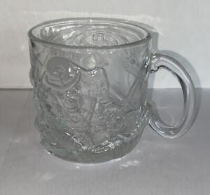 Vintage 1995 McDonalds Batman Forever Glass Mug Cup The Riddler
