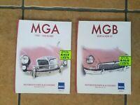 MGA MGB GT RESTORATION Parts & Accessories 1500 - 1600 Shop owners manuals - NEW