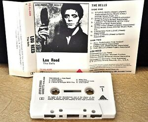 LOU REED      - THE BELLS  -                                       Cassette Tape