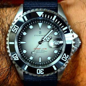 Steinhart Ocean 1 Premium Black Ceramic Swiss Automatic Limited Watch