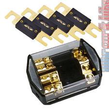 Sinus Live SB1-4 4-fach ANL Sicherungsverteiler inkl. 4x 80A ANL Sicherung