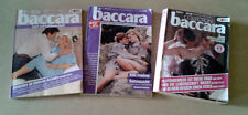 3 baccara Romanhefte, 2 Bände + 1 Sammelband