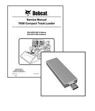 Bobcat T650 Compact Track Loader Workshop Service Manual USB Stick + Download