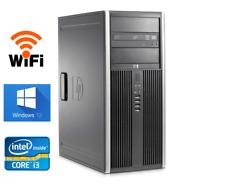 HP Elite 6200 Tower Desktop Computer 2TB 8GB RAM WiFi Core i3 3.3Ghz Windows 10