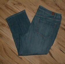 SIMPLY VERA / VERA WANG STRETCH DENIM BLUE JEAN CAPRIS SIZE 16 NWTS