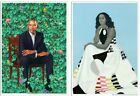 Barack & Michelle Obama Smithsonian Gallery Print Kehinde Wiley & Amy Sherald