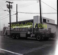 Indian Mills NJ IMVFC Mack Fire Engine #2816 - Vintage Fire Truck Negative