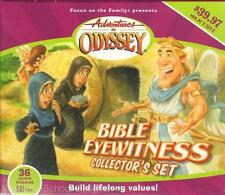 NEW Adventures in Odyssey BIBLE EYEWITNESS COLLECTORS SET 12 Audio CD 36 Stories