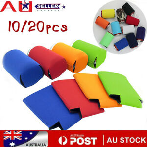Foldable Blank Can Stubby Cooler Holder Sleeve Sublimation ink Heat Transfer A++