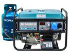 8.000 Watt Gas- u. Benzin-Stromaggregat Stromerzeuger KS10000EG