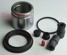FRONT Brake Caliper Seal & Piston Repair Kit for SAAB 9-3 2003-2008 (BRKP57S)