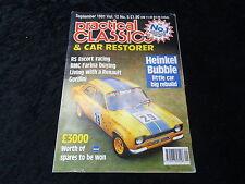 Practical Classics Magazine Sept 1981 RS Escort, Renault Gordini, Heinkel Bubble