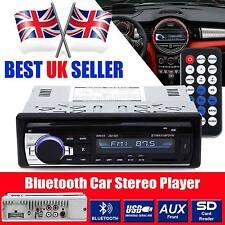 Coche Bluetooth Radio estéreo Reproductor de unidad principal MP3/USB/SD/AUX-IN/FM la en-rociada IPod UK