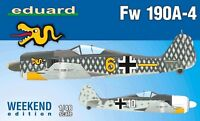 Eduard Weekend Edition 1:48 Focke-Wulf Fw 190A-4 Aircraft Model Kit