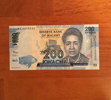 Malawi 200 Kwacha 2012 P-60> UNC
