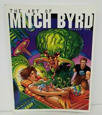 The Art of Mitch Byrd (2001) Vol 1 TPB SQP Nude Illustrations BW SC