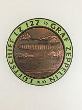 Germany/German Airship Luftschiff LZ127 Graf Zeppelin large  enamel breast badge