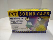 New Factory Sealed SIIG SoundWave PCI (IC137012) Sound Card AJP0806 S3-1