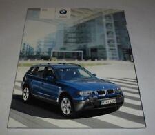 BMW X3 1st Gen (E83) Brochure (2004)