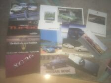 . COLLECTION OF VARIOUS CAR. BROCHURES x 13.      See photos for what is incl