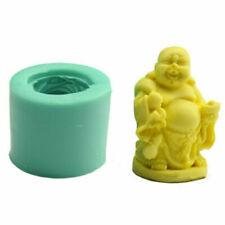 1pcs Buddha Soap Mould Candle Soap Soft Silicone Mold DIY Handmade