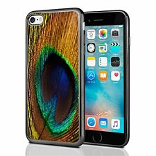 Peacock Feathers For Iphone 7 (2016) & Iphone 8 (2017) Case Cover