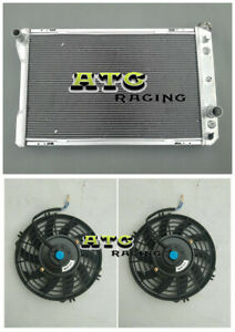 3 Row Aluminum Radiator +Fan for 82-92 Pontiac Firebird/Trans Am/Chevy Camaro V8