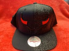 Chicago Bulls Mitchell & Ness snapback hat, Brand New! Red Cat Eyes hat! Rare!
