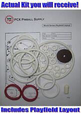 1972 Gottlieb World Series Pinball Machine Rubber Ring Kit