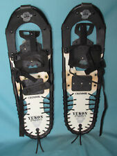 "Yukon Charlie's Chinook snowshoes 25"" x 8"" versatile trail walking snow shoes  ~"