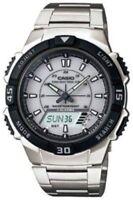 Casio Men's Silver Tough Solar Sports Watch  AQS800WD-7EV
