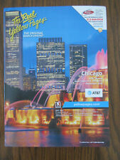 Chicago USA Telephone Phone Book Yellow White Pages Telefonbuch AT&T - Dec. 2020