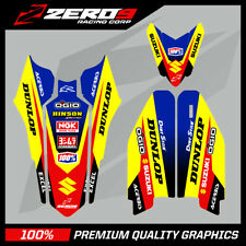 SUZUKI TRIM KIT RM RMZ 85 125 250 450 MX GRAPHICS MOTOCROSS GRAPHICS