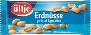 (9,99€ / 1kg) Ültje Erdnüsse geröstet und gesalzen 20x50g = 1 kg