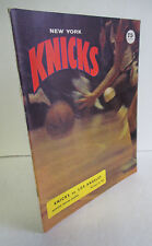 1968 NEW YORK KNICKS vs LOS ANGELES LAKERS Program