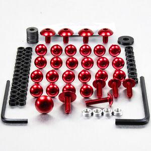 Aluminum Fairing Kit Ducati 899 Panigale Red