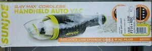 Sun Joe Handheld Vacuum Cleaner HEPA 8.4Volt L-iON RV/Car/Boat/ Portable Vac