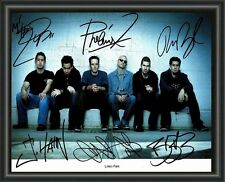 LINKIN PARK A4 SIGNED AUTOGRAPHED PHOTO POSTER  FREE POST