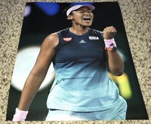 Naomi Osaka Signed 8x10 Photo With Proof