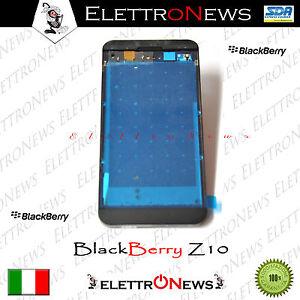 Cover Frame Supporto Lcd Completo di Vibratore+Jack Audio+Tasti Blackberry Z10