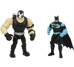"DC Comics Batman Moto-Tank Vehicle Batman & Bane 4"" Action Figure Spin Master"