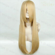 Wiwigs Long Straight Light Blonde Cosplay Ladies Wig
