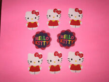 Hello Kitty  Fabric Iron On Appliques style#3